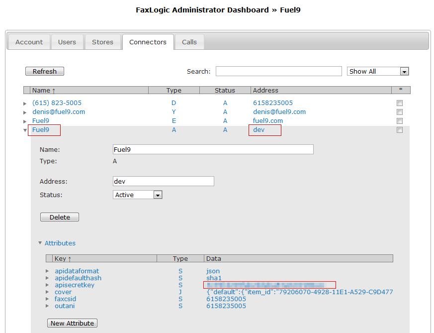 Configuring FaxLogic | Boomerang Notification Services