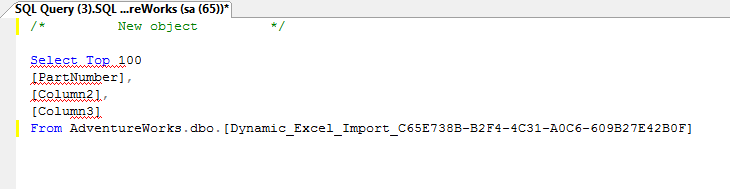 Automatic Excel to SQL Import | SQL Query | Boomerang Notification Framework
