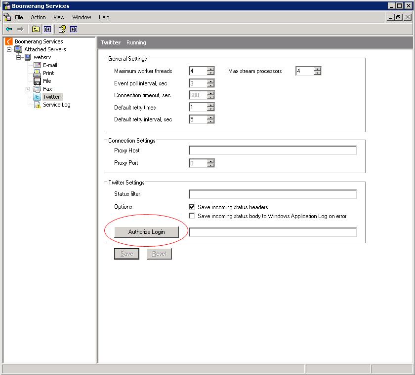 Configuring Twitter   Boomerang Notification Framework
